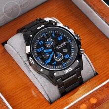 Lo nuevo Curren Lujo de la marca casual Hombres Relojes de Moda Relojes Deportivos Reloj de Cuarzo Militar relojes Relojes de las mujeres 0211