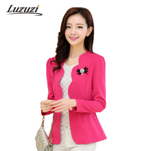 Women Blazer work office Suit Blazers Casual Femenino Blaser Office Lady OL Spring Coats and Jackets Coat Fashion Femme WS114