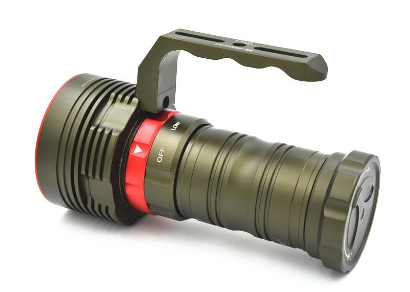 ARCHON D22 II lampe de poche de plongée D22 II * L2 U2 LED 1200 Lumens 100M sous marine D22/W28 version améliorée 100% Original Lanten - 5