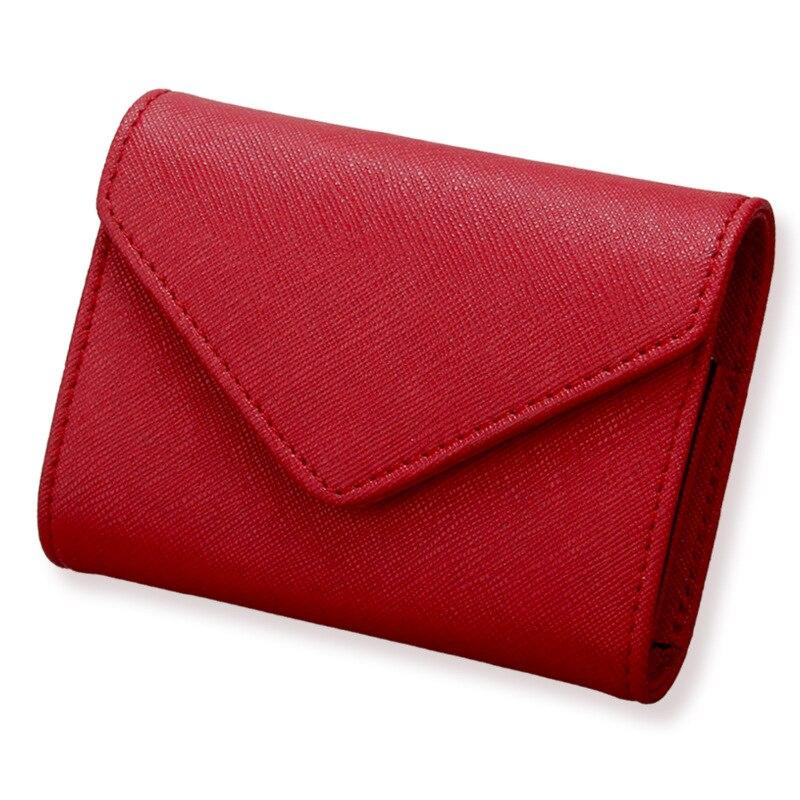 Business Card Holder Wallet Bank Credit Card Case ID Holders Wallets Leather Unisex Women Cardholder 13 card bit Organizer Bag