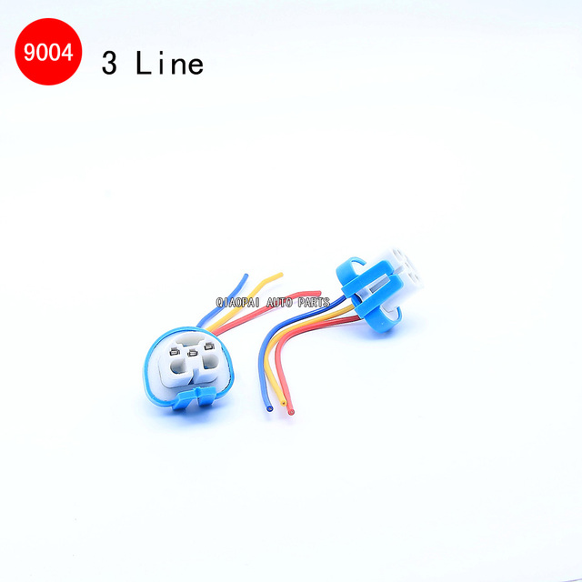 1 pair 9004 wire light high temperature resistant Connector Plug lamp socket copper wire harness LED_640x640 1 pair 9004 wire light high temperature resistant connector plug copper wire hardness at eliteediting.co