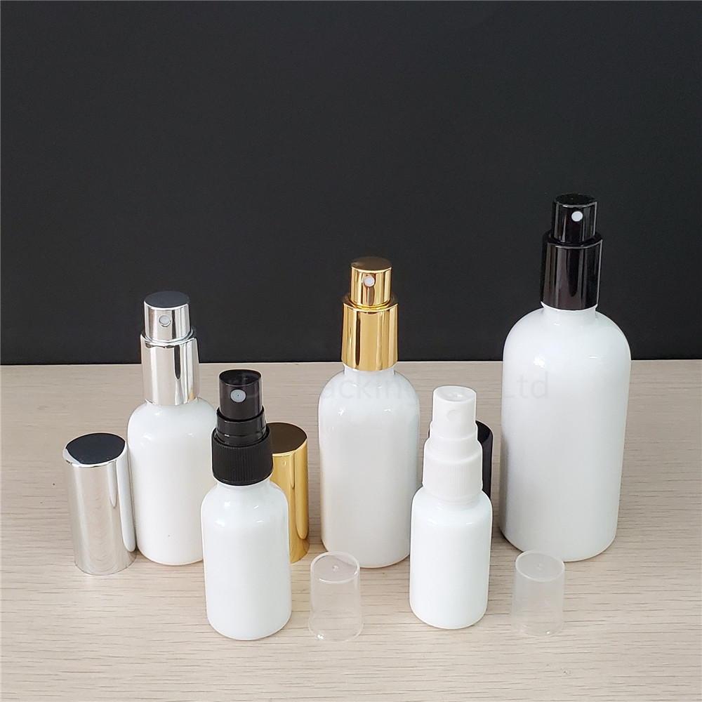 10ml/15ml/20ml 30ml 50ml <font><b>100ml</b></font> white glass <font><b>bottle</b></font> with Perfume sprayer, Essential Oil <font><b>Spray</b></font> Glass <font><b>Bottles</b></font> 100pcs/<font><b>lot</b></font> image
