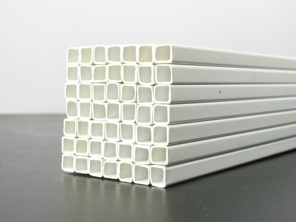 Wholesale square tube ABS Plastic pipe diameter is 4mm