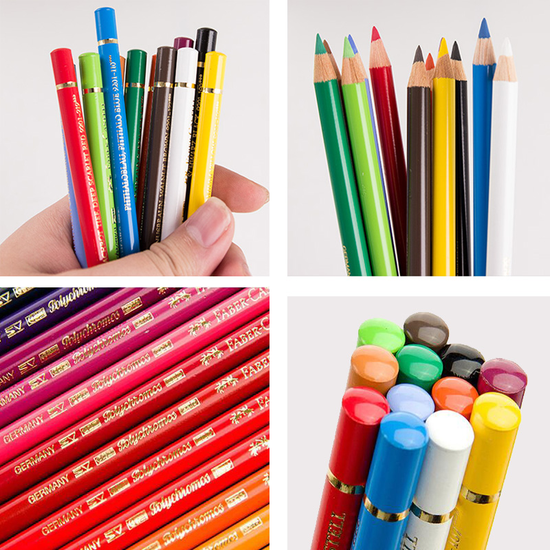 Faber Castell Polychromos mejor artista estaño lápiz juego de 12