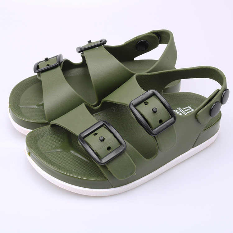 New children's sandals boys and girls beach shoes comfortable non-slip children's sandals size 23-32
