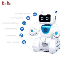 New Smart Dancing Water Robot Toy Intelligent Gesture Control RC Toy Robot Kit Action Figure Programmin Birthday Gift For Kids