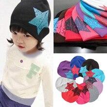 Hot Baby Kids Toddler Hat Adorable Star Pattern Headgear Beanie Cap Winter Gift  7EU4