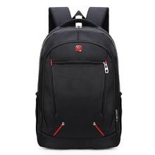 qinwa 17 inch Laptop Backpack Business Shoulder Bag Men's Nylon Computer Back Packs Travel Students School Bags Laptop Rucksack