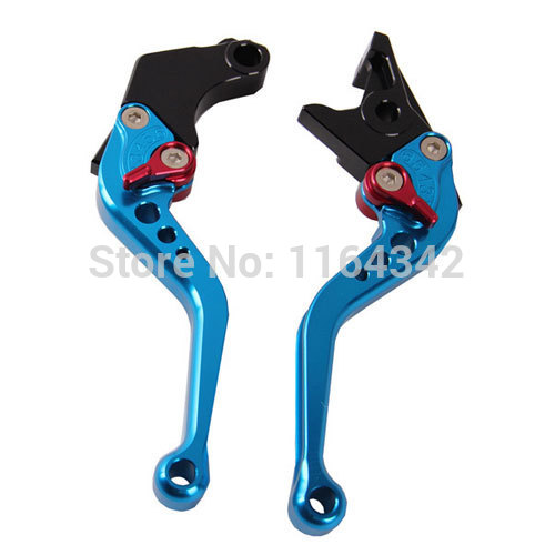 Blue CNC Aluminum Motorcycle Brake Clutch Levers Set For Honda CBR250 VT250 Hornet250 Jade250 CB400 VTEC(No 99-01) CBR400 CB-1 free shipping for honda cbr250 400 cb400 vtec vfr400 cb750 modified clutch brake pump electroplating