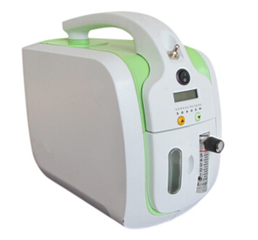 Health Care Mini Oxygen Concentrator CE Approved 90% Purity Portable Oxygen Generator Homecare and Medical Use O2 Making Machine