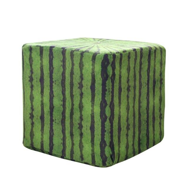 Square Watermelon Plush Pillow