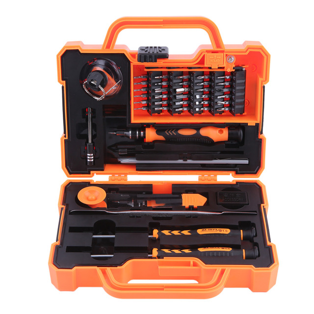 Jakemy 45 In 1 Professional Electronic Precision Driver Set Hand Tool Box Opening Tools For
