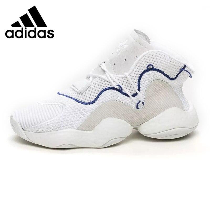 Adidas Clover Crazy BYW Boost Men Basketball Shoes ,White Black,Sliding Non -Slip Abrasion Resistant CQ0992 CQ0991 EUR Size M