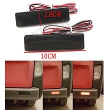 2 шт./компл. светодиодный задний бампер отражатель Стоп Хвост свет для Opel/Vauxhall Vivaro Movano левый и правый хвост свет лампы