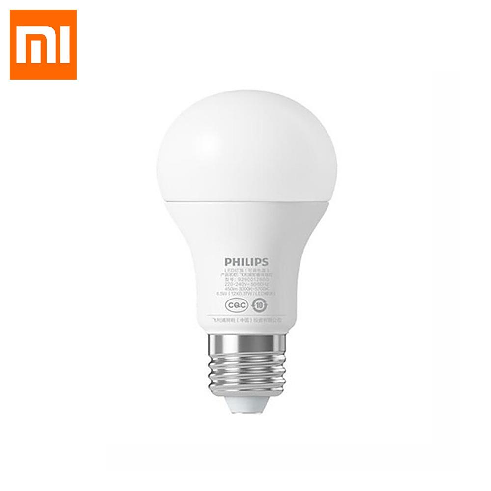 Original Xiaomi Smart LED Bulb Lamp WiFi Remote Control Mijia E27 Bulb mi Home APP adjust luminance 6.5W 220 - 240V