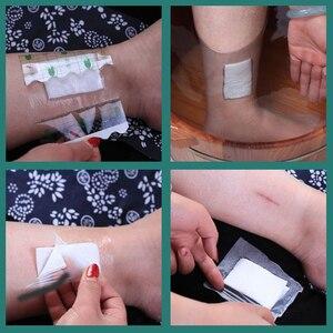 Image 5 - 100 ピース/ロット医療透明テープ PU フィルム絆創膏防水抗アレルギー薬用創傷被覆材固定テープ