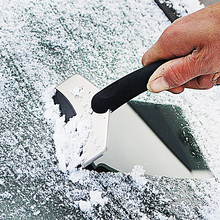 цена на Car Stainless Steel Snow Shovel Glass Scraping Ice Scraper Scraping Snow Deicing Snow Shovel Tool