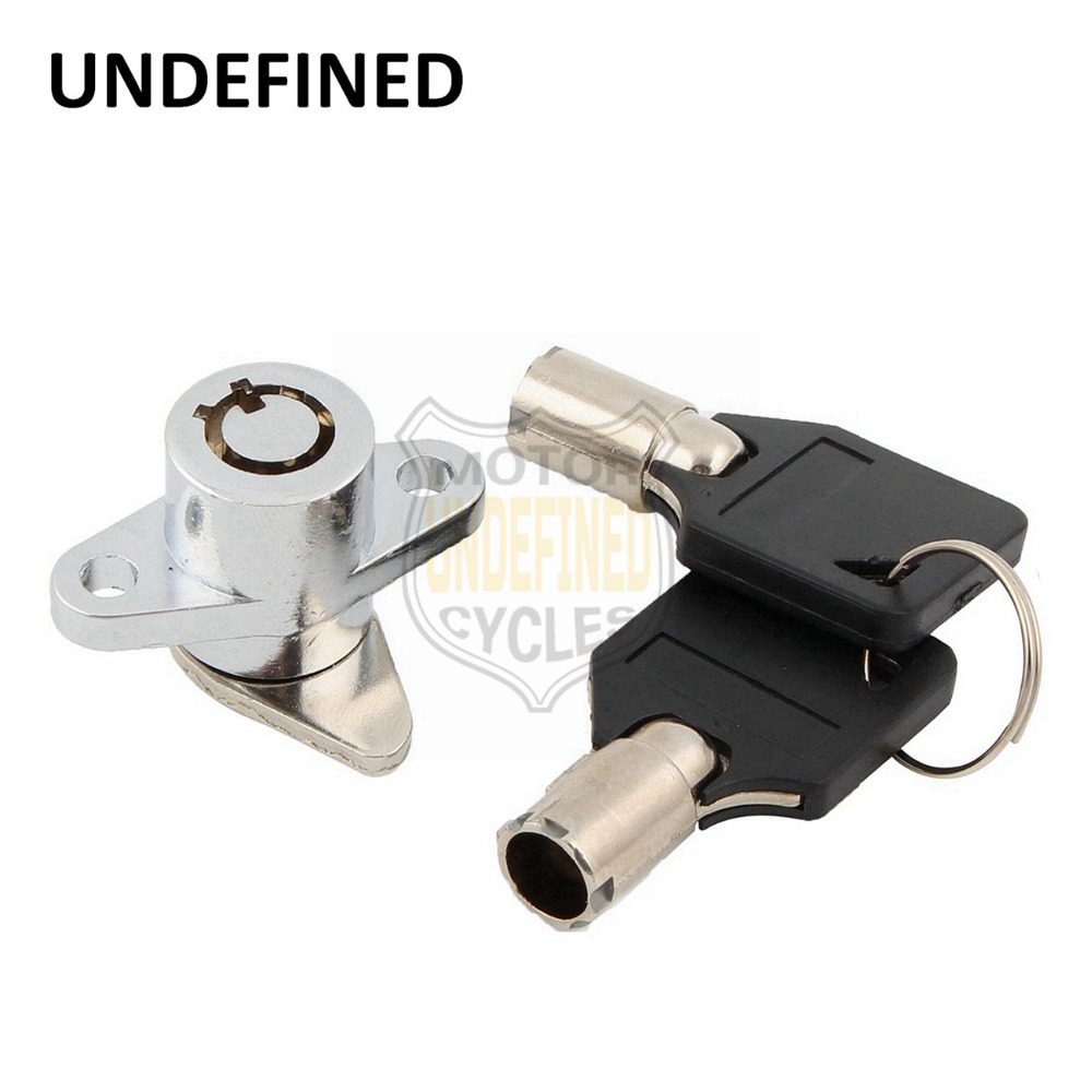 UNDEFINED Tour Pak Lock With Keys Set For Harley Touring Road King Street Electra Glide Classic 2014 2015 2016 2017 2018 DDD178