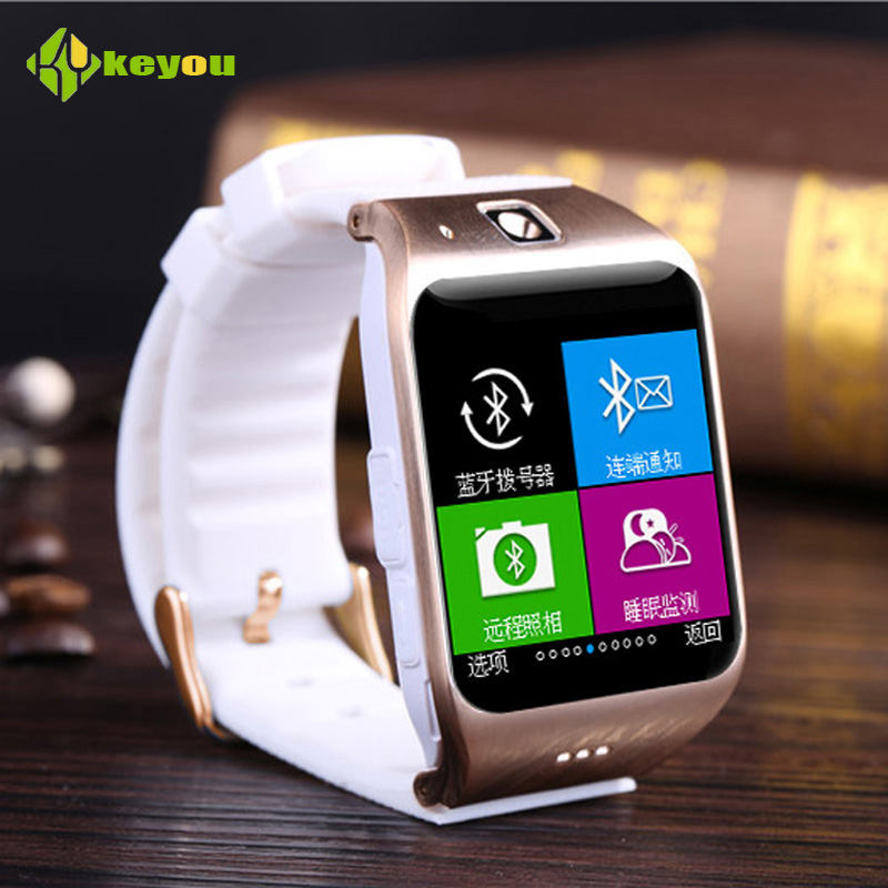 Smartwatch Sim Karte.Keyou Lg118 Smartwatch Bluetooth Waterproof Gsm Smart Watch Armbanduhr Build In Camera Ual Sim Karte For Android Und Iphone