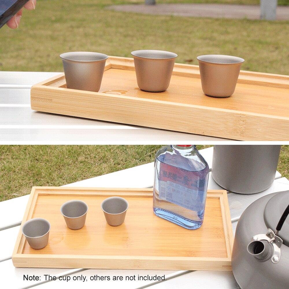 Image 5 - 1.4L Открытый походный титановый чайник, чайник для воды, открытый кофейник, портативная кухонная посуда с сетчатой сумкой и 3 титановыми чашками-in Столовые приборы для пикника from Спорт и развлечения on AliExpress - 11.11_Double 11_Singles' Day