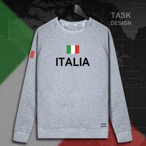 Image 5 - Italy Italia Italian ITA mens hoodie pullovers hoodies men sweatshirt new streetwear clothing Sportswear tracksuit nation flag