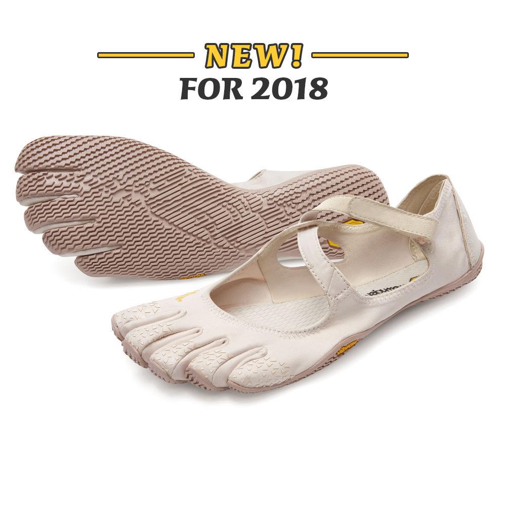 Vibram fivefingers Yoga Dance Pilates cinco dedos antideslizantes transpirables peso ligero desnudo negro zapato para mujer v soul 2018 - 2