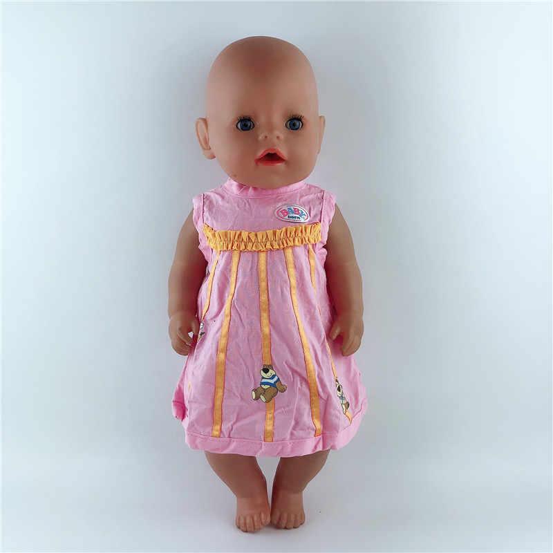 حار فساتين راقية ملابس دمى ارتداء صالح لل 43 سنتيمتر/17 بوصة طفل دمية ، الأطفال أفضل هدايا عيد الميلاد (فقط بيع الملابس)