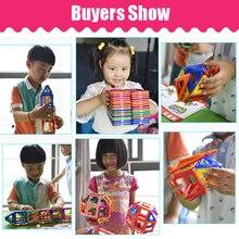 KACUU Big Size Magnetic Designer Magnent Building Blocks Model & Building Toys Brick Enlighten Bricks Magnetic Toys for Children