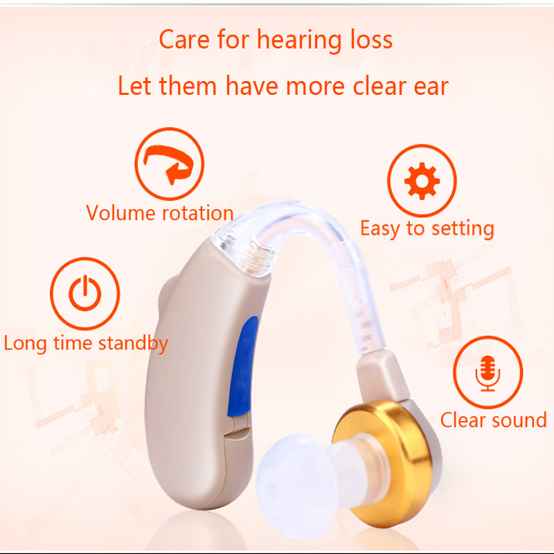 Digital Chip BTE Hearing Aid Kit Cheap audifonos para sordos with Long time use batteries hearing aid Aids Deafness S-288 guangdong medial equipment s 16a deafness headphones digital hearing aid for sale