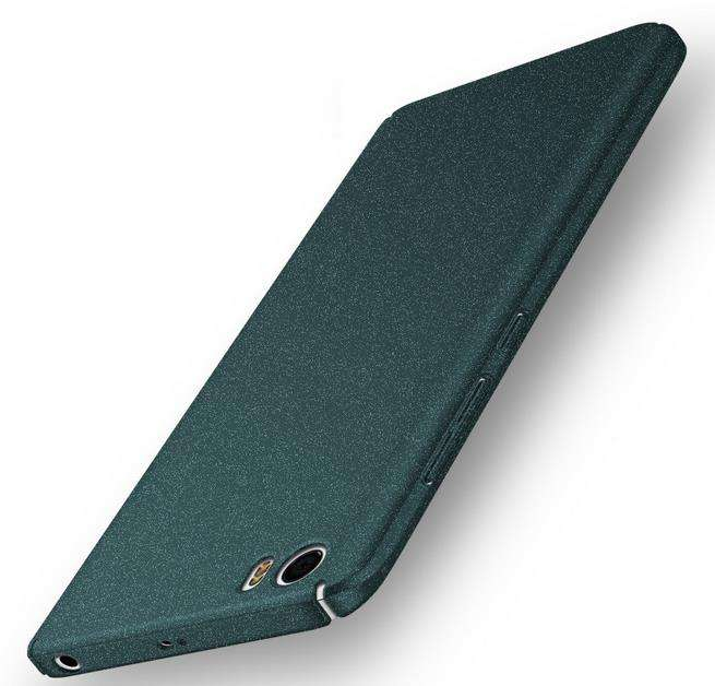 5 S Ditambah anti-keringat Pasir matte Kasus Ultra tipis penuh - Aksesori dan suku cadang ponsel - Foto 1