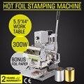 Neueste Design Kipper Embosser Heißer Folie Stanzen Maschine Für Papier PVC ID Karte