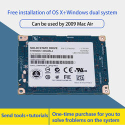 100% NEW 1.8 inch SATA LIF 128GB ssd  FOR 2009 macbook air a1304 mc233 mc234 hard disk hdd Replace  HS12UHE