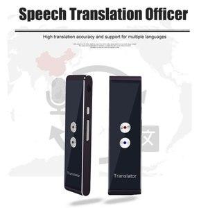Image 4 - ポータブル T8 スマート音声通話翻訳双方向リアルタイム 30 多言語の翻訳学習旅行ビジネス満たす
