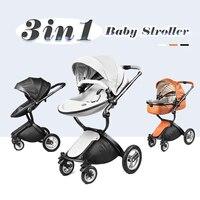 Детские коляски Новый мама 3 in1 путешествия Системы свет Вес Портативный складной горячие