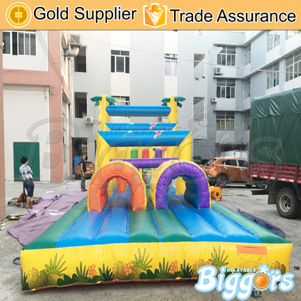 Yard OEM Outdoor inflatable obstacle course for creation Non-PhthalatesYard OEM Outdoor inflatable obstacle course for creation Non-Phthalates