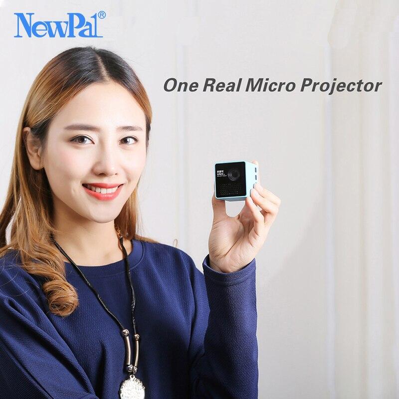 Ultramini DLP Projektor P1 Projektor (WIFI Version Option) Full HD Mini Beamer Unterstützung 70 zoll 64gTF mit 1000 mAh Batterie