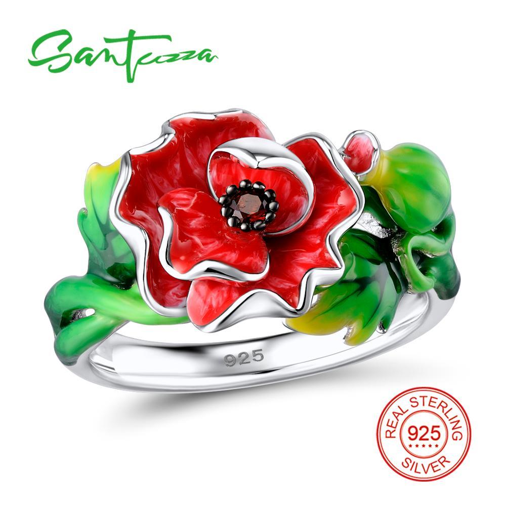 SANTUZZA Silver Jewelry Set For Women 925 Sterling Silver