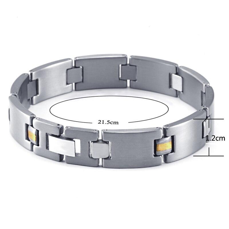 HTB1Q1jZRVXXXXcgXVXXq6xXFXXXj - RainSo 2019 Fashion Titanium Bracelets & Bangles For Women Men Trendy Simple Generous Jewelry OTB-216  charm bracelets