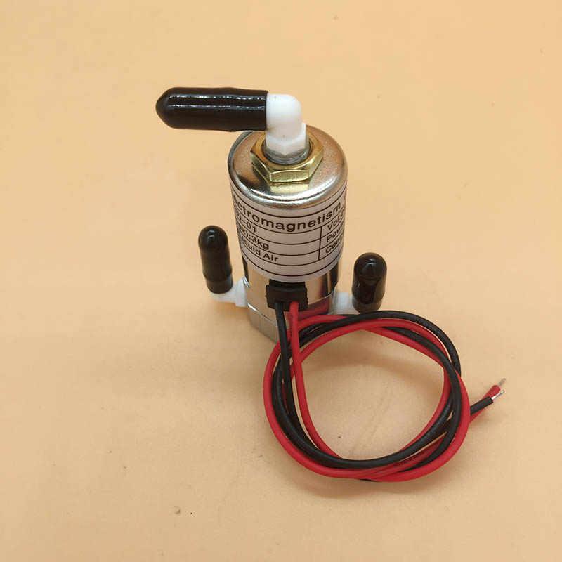 Infiniti Phaeton Zhongye drukarka atramentowa zawór elektromagnetyczny do Spt, Konica, Polaris głowica drukująca 24V 8W 3way bend zawór elektromagnetyczny