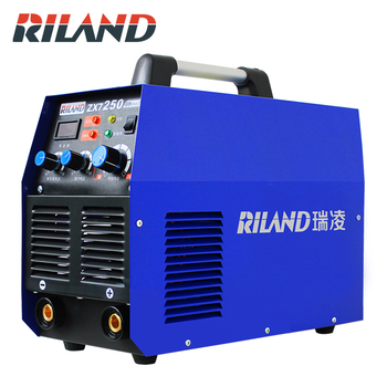 цена на RILAND IGBT   ZX7-250GS 220V 380V ARC MMA DC Inverter Welding Machine Welder Working Equipment Dual Voltage Weld