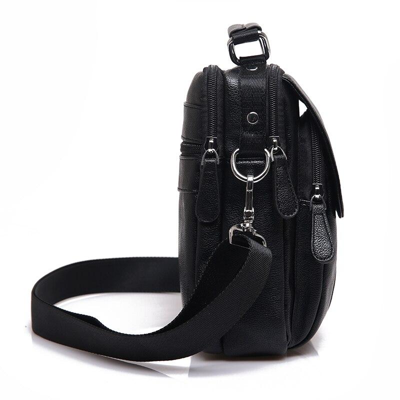 Novi brand Koža Muškarci torbe na rame Moda Hot Muška torbu Mali - Torbe - Foto 3
