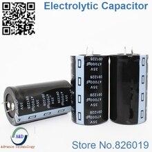3 шт./лот 35 В 47000 мкФ радиальный DIP Алюминий электролитический Конденсаторы Размер 35*60 47000 мкФ 35 В