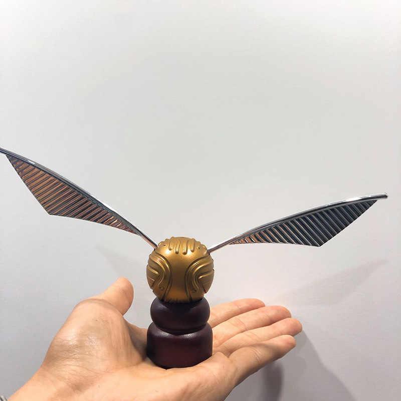 Золотой шар Snitch экшн-игрушка металл и пластик ретро Оригинальная версия ограниченная поставка для фанатов hp