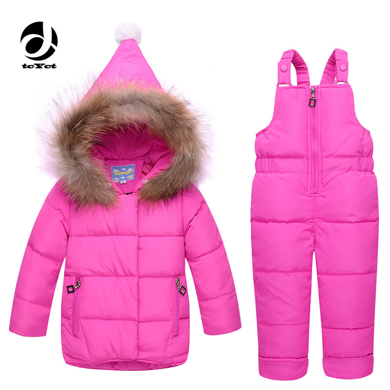 tcYct Winter Warm Baby Infant Down jacket Clothes Set Kids Hooded Jacket With Scarf Children Boys Girls Coat pattern Suit Set new free shipping 2015 winter coat baby clothing set children boys girls warm down thicken jacket suit set baby coat
