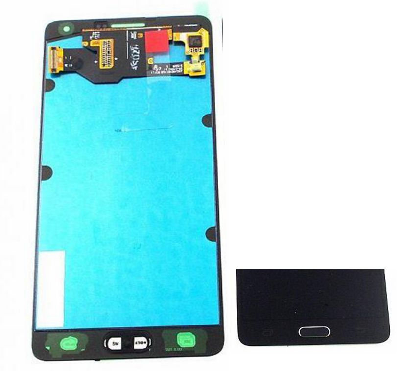 2015 Dark Blue For Samsung Galaxy A7 A700 A7000 SM-A700F Lcd display screen+Touch Glass Digitizer Assembly free shipping