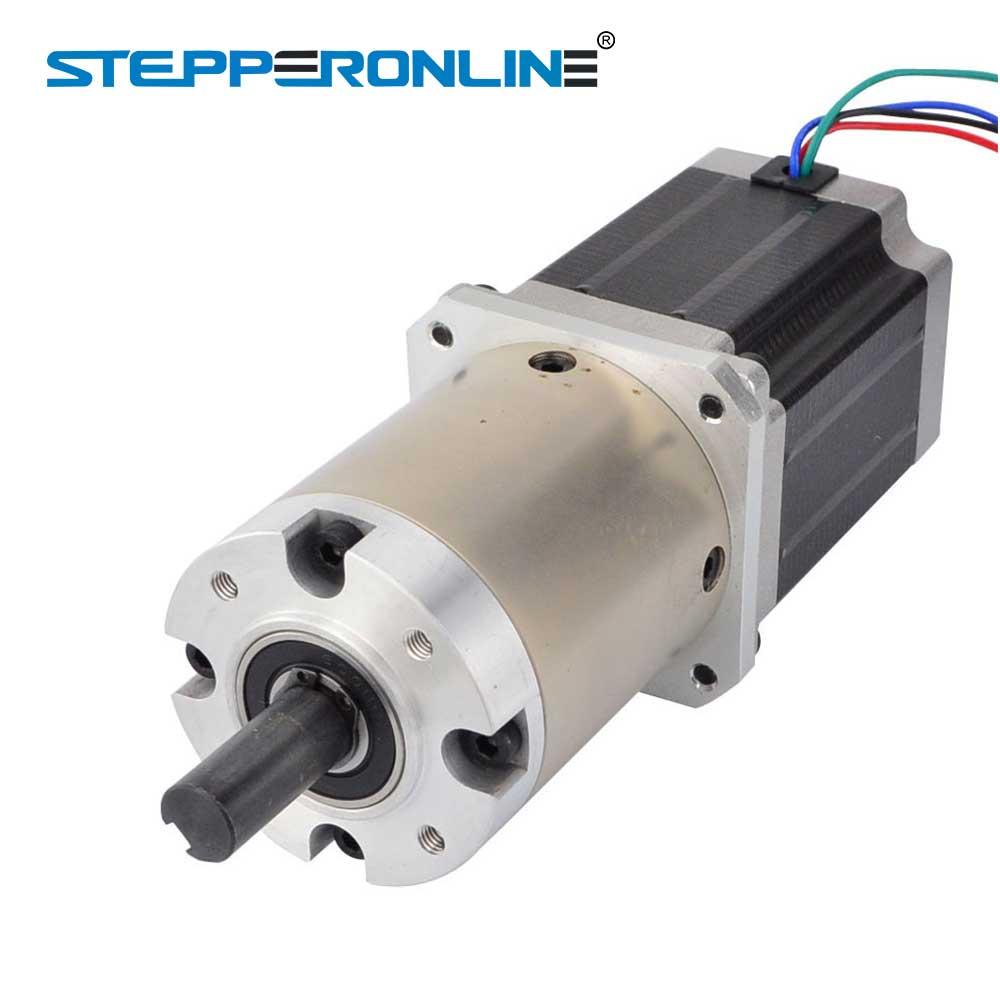 Nema 23 Gear Stepper Motor 4-Lead 2.8A Bipolar Gear Ratio 47:1 Planetary Gearbox 3D Printer CNC Robot geared stepper motor 4 lead nema 11 stepper motor 30mm planetary gearbox gear ratio 9 1 cnc robot 3d printer pump