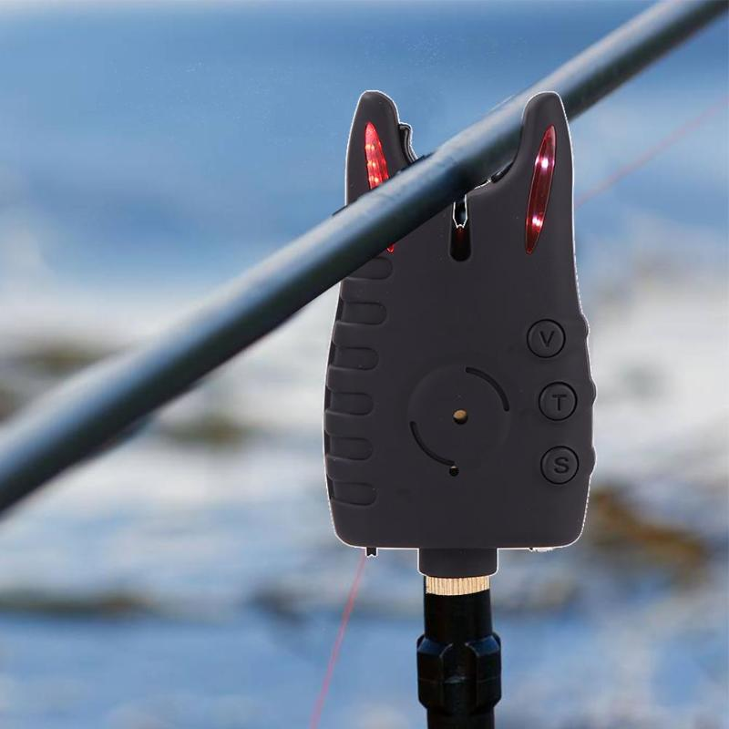 8LED Carp Fishing Bite Alarm Set Fishing Rod Alarm Indicators with Volume Tone Sensitivity Control with Receiver Case8LED Carp Fishing Bite Alarm Set Fishing Rod Alarm Indicators with Volume Tone Sensitivity Control with Receiver Case
