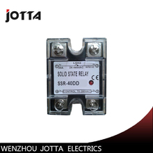 SSR -40DD DC control DC SSR Single phase Solid state relay 40dd ssr control voltage 3 32vdc output 5 110vdc dc single phase dc solid state relay
