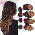 Ombre Hair Weave #1b/27 Blonde Loose Wave Virgin Hair 3pcs 8a Grade Cheap Hair Bundles Peruvian Loose Wave Ombre Hair Extension