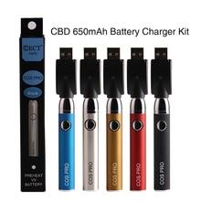 И так далее, потому что Pro батарея предварительного нагрева электронная сигарета 650 mah свинцово кислотная батарея II и переменное Напряжение подогреть Bud батарея для Vape мод толстые масляный Картридж Комплект Rda Rta